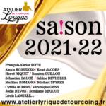 L'Atelier Lyrique de Tourcoing : une saison 2021-2022 d'exception