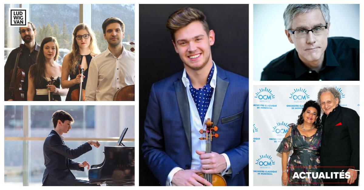 ACTUALITÉS  | Cinq nouvelles en musique classique à connaître cette semaine