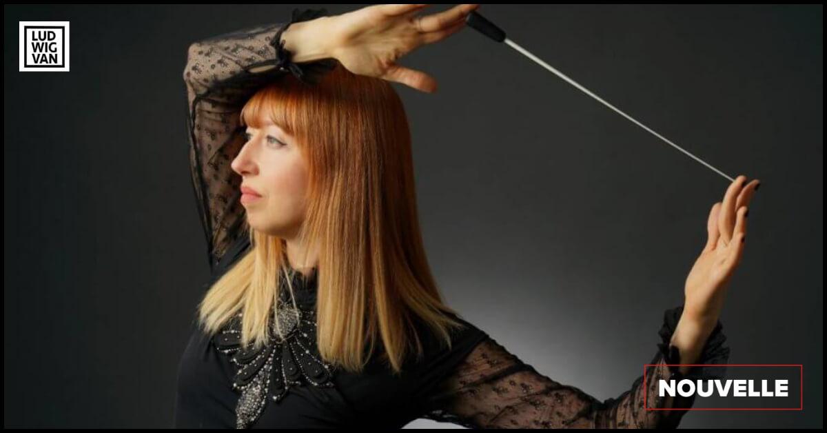 NOUVELLE  | Mélanie Léonard nommée directrice musicale de Symphonie Nouveau-Brunswick