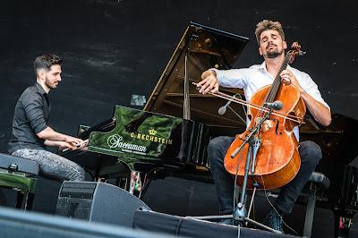 Luka Šulić and Evgeny Genchev at No Borders Music Festival (HD 1080p)