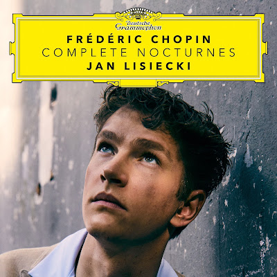 Jan Lisiecki releases new album of Frédéric Chopin's Complete Nocturnes