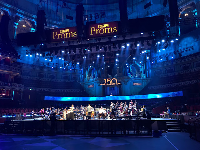 Mixed blessing: Bach's St Matthew Passion at the BBC Proms with never quite solves the problem of how to fill the Royal Albert Hall with this profoundly contemplative work