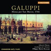 Messa per San Marco, 1766; Music by Galuppi & Bertoni (Filippo Maria Bressan, Academia de li Musici)