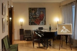 A movie-themed concert series in Sviatoslav Richter's home