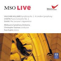 Vaughan Williams: A London Symphony & Chopin: Piano Concerto No.1 [Christopher Seaman & Ewa Kupiec]