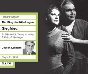 Wagner : Wagner:Siegfried; Astrid Varnay,Bernd Aldenhoff,Hans Hotter