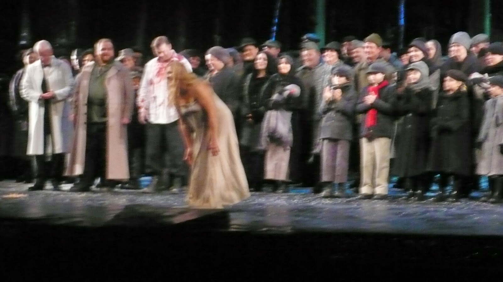 Macbeth, Final Dress Rehearsal, Met, NYC, 20 Sep 2014