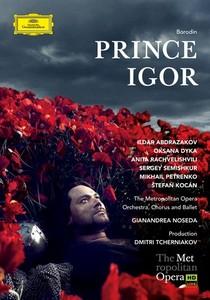 DVD. Borodine : Prince Igor (Ildar Abdrazakov, Tcherniakov, 2014)