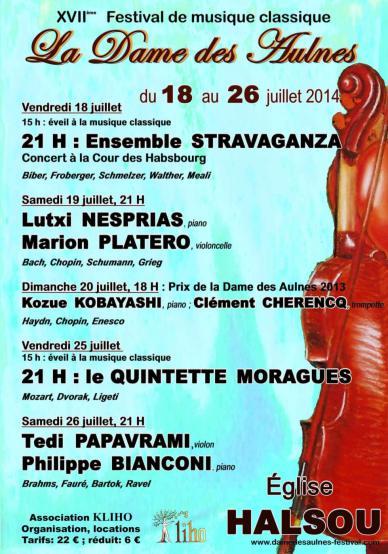 festival La Dame des Aulnes 2014