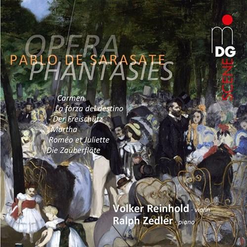 Die besondere CD: Pablo de Sarasate – Opernfantasien