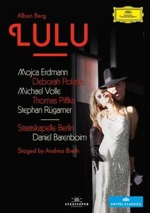 DVD. Alban Berg : Lulu. Mojca Erdmann (Barenboim, 2012, 1 dvd Deutsche Grammophon)