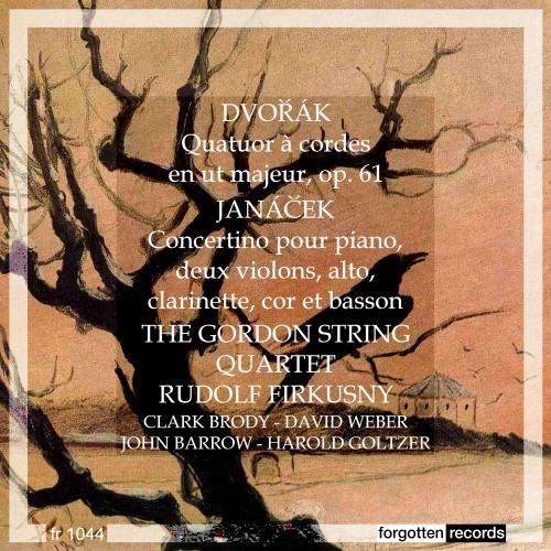 Dvořák et Janáček par le Gordon Quartet