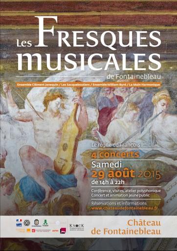 Fresques musicales à Fontainbleau