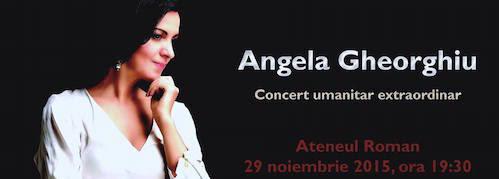 Benefit concert in Bucharest, November 29