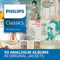 Coffret cd, événement, annonce. Philips classics, The Stereo Years. 50 cd analogique (DECCA / Philips)