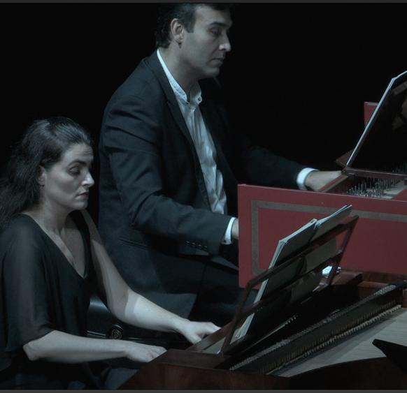 RÉVÉLATION. DUO clavecin et pianoforte : Rigel décisif par Bruno Procopio et NatalIa Valentin