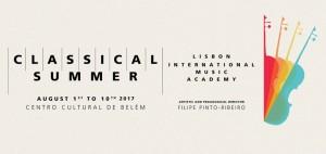 LISBONNE, Verao classico, Festival & Académie, 1er-10 août 2017