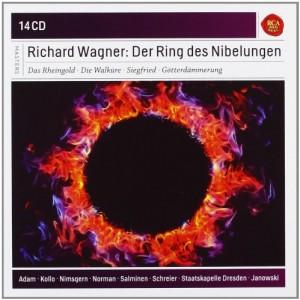 CD, coffret. Compte rendu critique. RICHARD WAGNER : Der Ring des Nibelungen – 14 cd RCA / SONY Classical / 1981-1983)