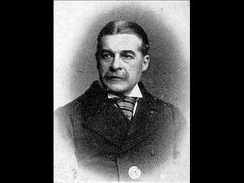 Edison phonograph cylinder (1888): Sir Arthur Sullivan (1842-1900) - The Lost Chord & Speech