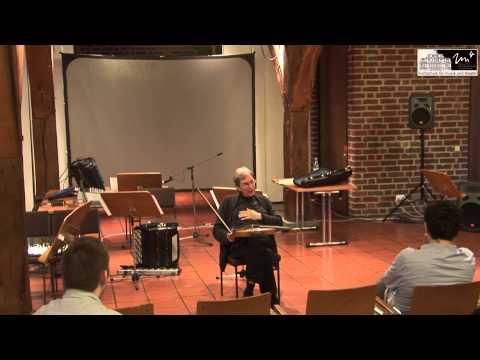 Manfred Stahnke - Vorlesung, BP Bratsche