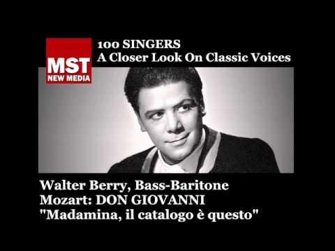 100 Singers - WALTER BERRY