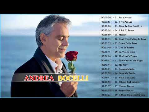 b705991f Andrea Bocelli Greatest Hits 2018 Best Andrea Bocelli Songs of All Time