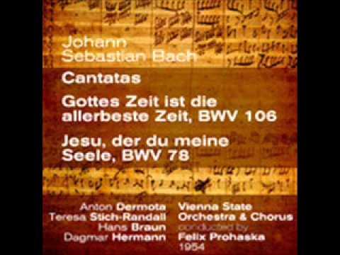 """Johann Sebastian Bach: Gottes Zeit ist die allerbeste Zeit, BWV 106 - I. """"Sonatina"""""""
