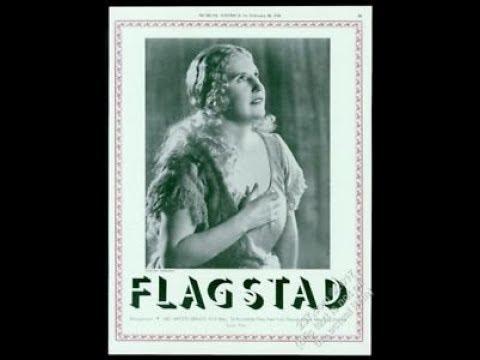 KIRSTEN FLAGSTAD - vocal growth