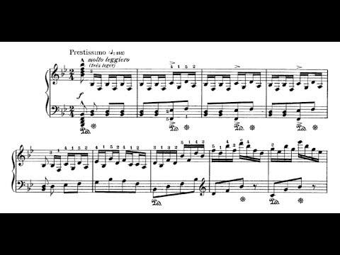 Jules Massenet - Toccata (audio + sheet music)