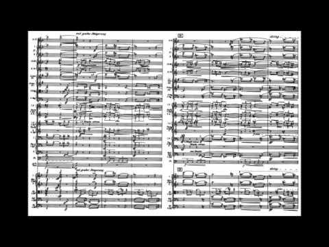 Anton Webern - Passacaglia for orchestra, Op. 1 (1908)