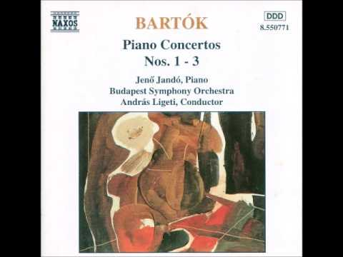 Bela Bartók Rhapsodies #1 - 3 Piano Quintet