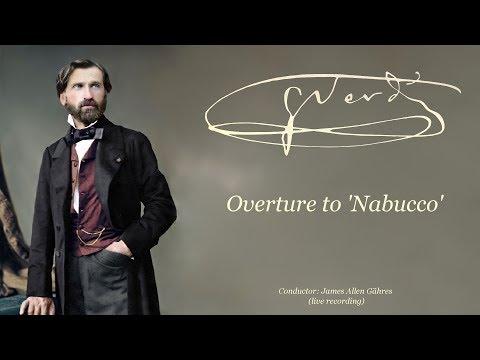 Giuseppe Verdi - Nabucco, Overture - James Allen Gähres, conductor - Ulm Philharmonic (live)