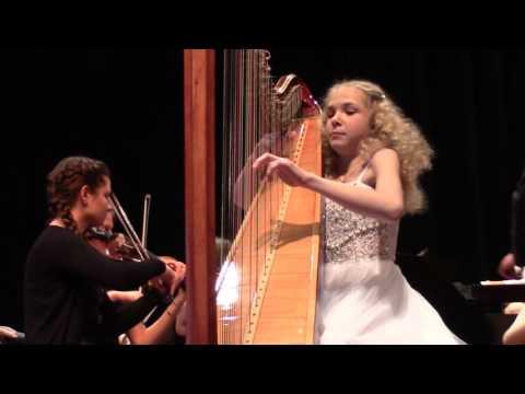 Boieldieu Harp Concerto performed by Alisa Sadikova, 23.04.2017