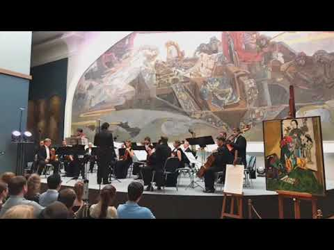 Excerpts from Peteris Vasks viola concerto