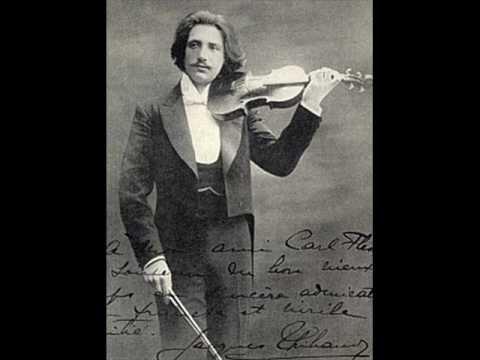 Mozart: Violin Sonata 35 in A, K 526, mvt 3 - Thibaud/Long