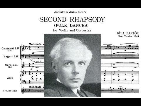 Béla Bartók - Violin Rhapsody No. 2 (1928, rev. 1945) {Stern/Bernstein}