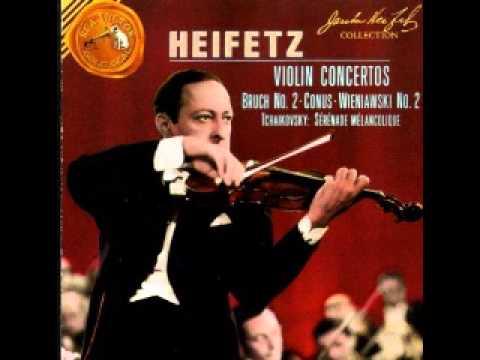 Conus Violin Concerto - Jascha Heifetz