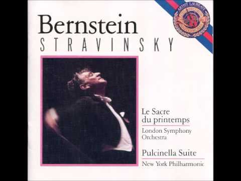 Stravinsky Le Sacre du Printemps & Pulcinella Suíte Bernstein, Maestro