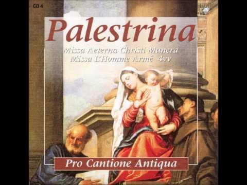 Palestrina Missa Aeterna Christ vol. 04