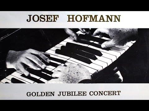 Josef Hofmann 1937 Jubilee Concert - Chopin, Rachmaninoff, Beethoven (Columbia ML 4929; Complete)