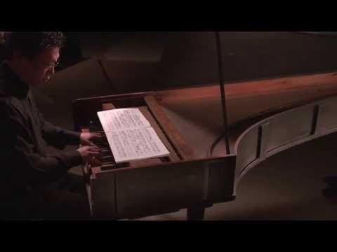 Cristofori Piano: Preludio of sonata number 6 by Lodovico Giustini