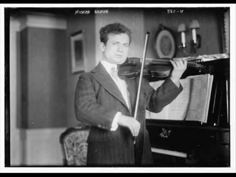 Elman - Beethoven: Minuet in G ~1930