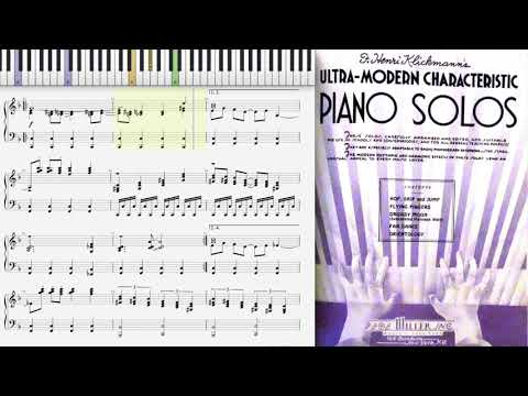 Orientology by Henri Klickmann (1937, Novelty piano)