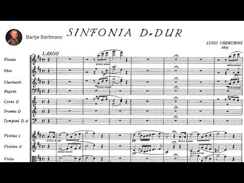 Luigi Cherubini - Symphony in D (1815)