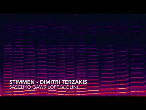Stimmen - Dimitri Terzakis