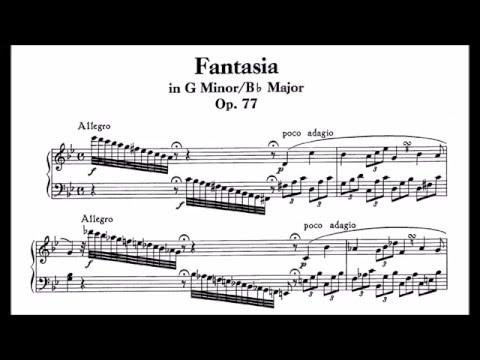 Beethoven - Fantasia in G minor, Op. 77 [Rudolf Serkin]