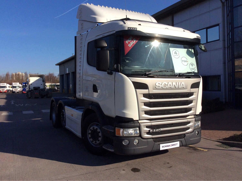 Scania Used - 2013 Scania G Series 440HP 6x2/2 Sleeper Cab