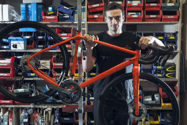 Matt Nightingale, Workshop Manager at South Coast Bikes