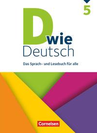 D wie Deutsch: 5. Schuljahr - Schülerbuch