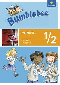 Bumblebee 1 - 4: Bumblebee - Ausgabe 2015: Workbook 1 / 2 mit Pupil's Audio-CD